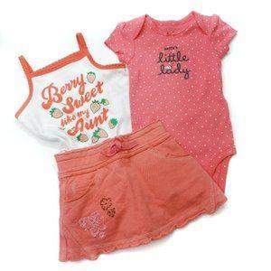 3 Piece Auntie Bundle Size 3-6 Months